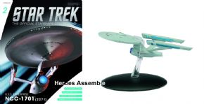 Star Trek Official Starships Collection #002 USS Enterprise NCC-1701 Refit Eaglemoss